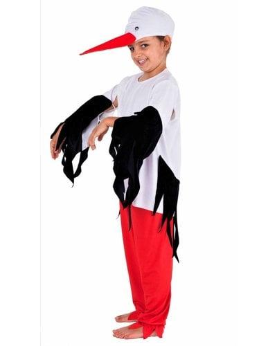 Magicoo Vogel Kostüm für Kinder - Storchkostüm