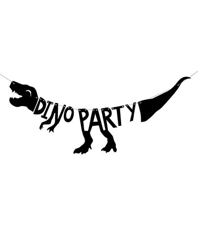 "Magicoo Partybanner Dinosaurier - ""Dino Party"", 20x90 cm"