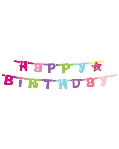 "Magicoo Bunter Banner ""Happy Birthday"""