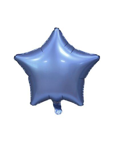Magicoo Folienballon Satin Stern blau