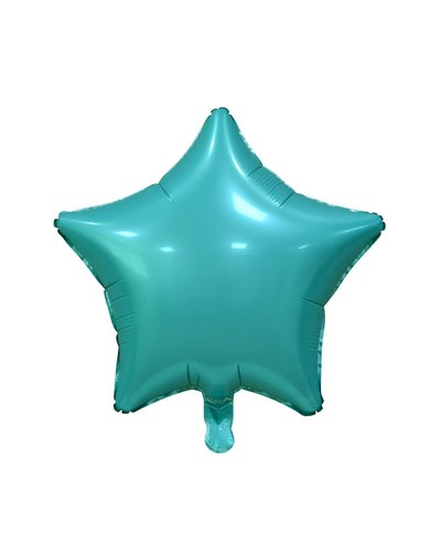 Magicoo Folienballon Satin Stern türkis