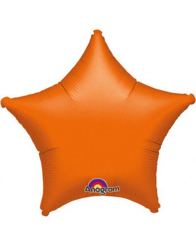 Magicoo Folienballon stern orange
