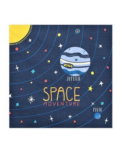 Magicoo Servietten - Space Party - 20 Stück