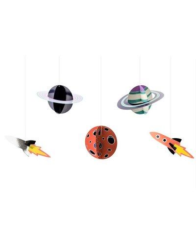Magicoo Hängende Dekoration DIY - Space Party