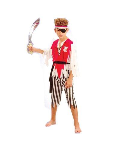 Magicoo Pirat Kostüm für Kinder