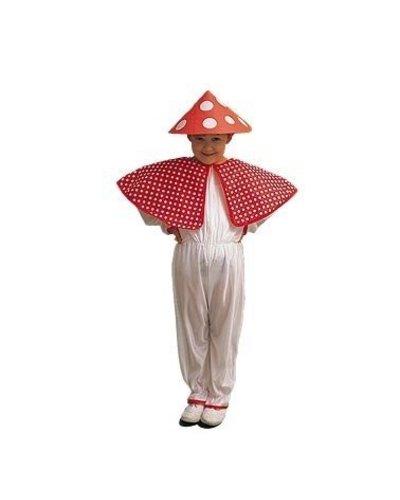 Magicoo Fliegenpilz Kostüm für Kinder