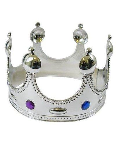 Magicoo Silberne Krone für König / Königin