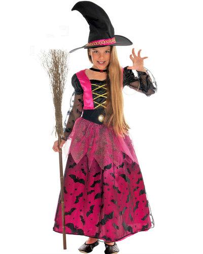 Magicoo Glamouröses Hexenkostüm für Mädchen