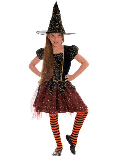 Magicoo Sternenhexe Hexenkostüm für Mädchen