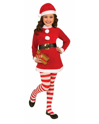 Magicoo Weihnachten Christmas Girl Kostüm für Mädchen