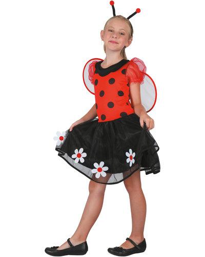 Magicoo Marienkäfer Prinzessin Kostüm für Kinder