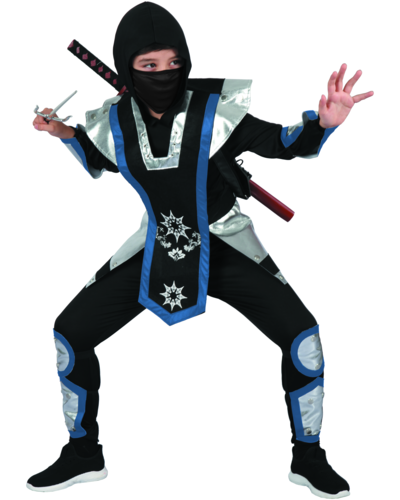 Magicoo Ninja Shuriken Ninjastern Kostüm für Kinder