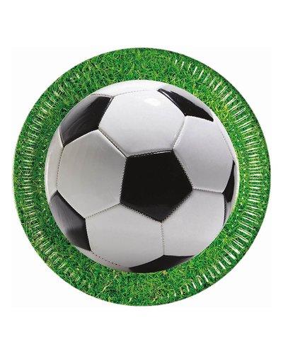 Magicoo 8 Papierteller - Fußball