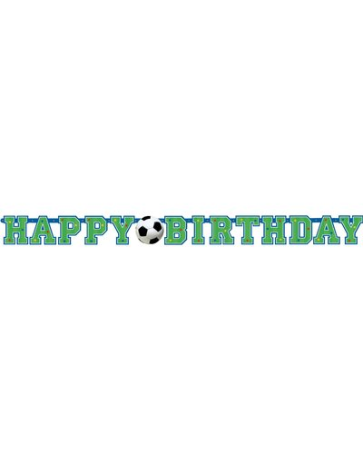 "Magicoo Banner ""Happy Birthday"" Fußball"