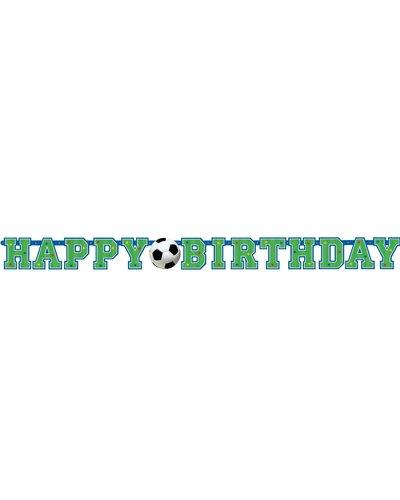 "Magicoo Banner ""Happy Birthday"" Fussball"