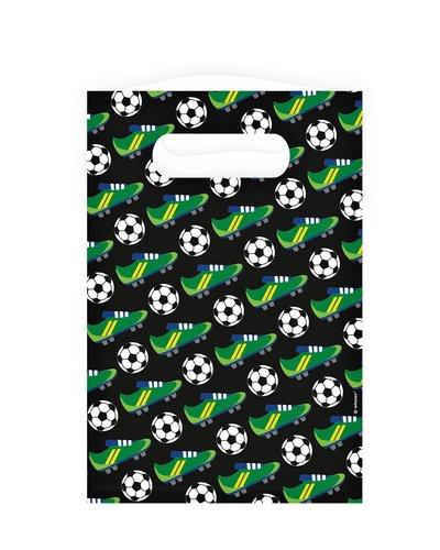 Magicoo 8 Geschenktüten aus Papier Fußballparty