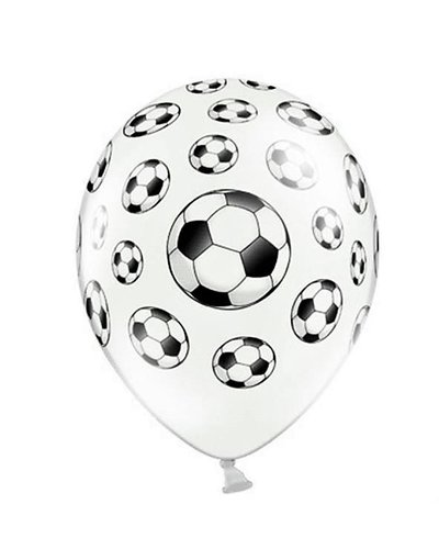 Magicoo 6 Latexballons Fußball 30cm