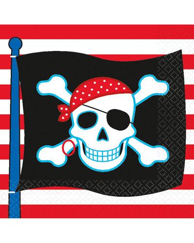 Magicoo 16 Servietten Piraten Party
