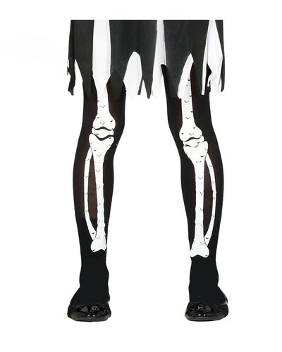 Magicoo Strumpfhose mit Skelettprint für Kinder