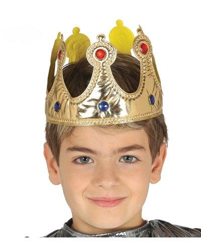 Magicoo Krone König Königskrone Gold für Kinder