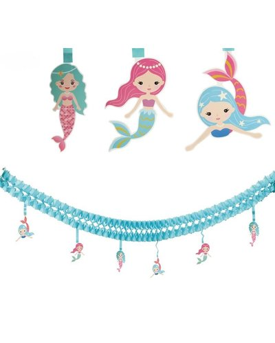 """Magicoo Meerjungfrau Girlande """"mermaids"""""""