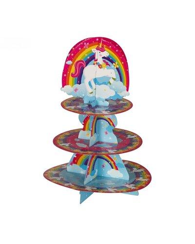 Magicoo Cupcakeständer Tortenständer Einhorn