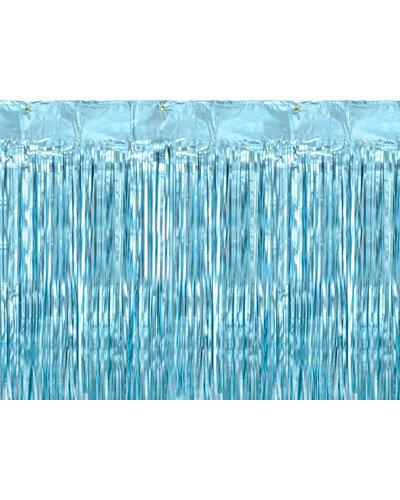 Magicoo Glänzender Dekovorhang - hellblau - 90 x 250 cm