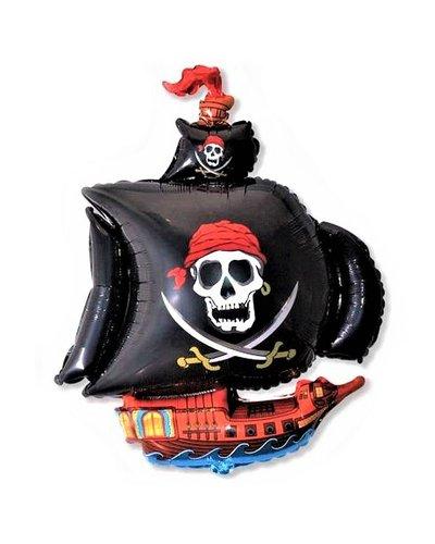 Magicoo Folienballon Piratenschiff - ca. 61 cm groß