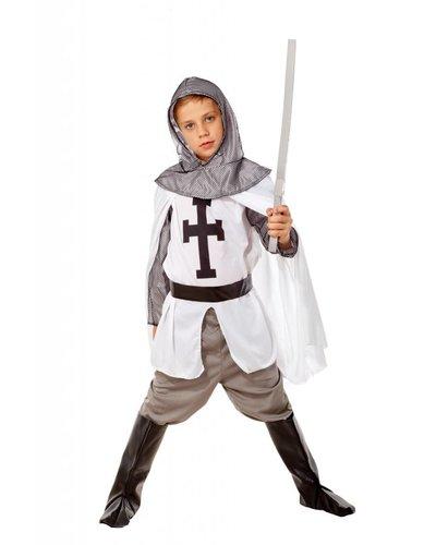 Magicoo Ritter Kostüm Kinder - Kreuzritter