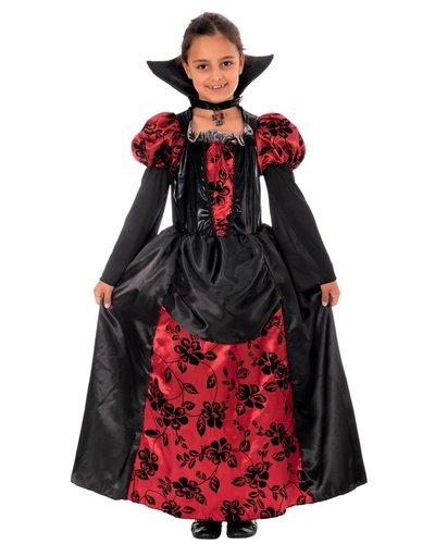 Magicoo Prinzessin Vampir Kostüm für Mädchen