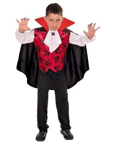 Magicoo Graf Vampir Kostüm für Kinder