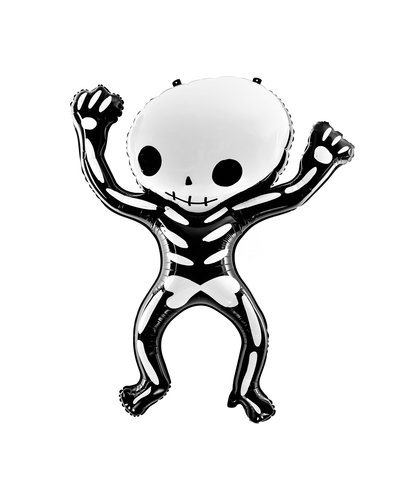 Magicoo Halloween Folienballon Skelett  84x100 cm