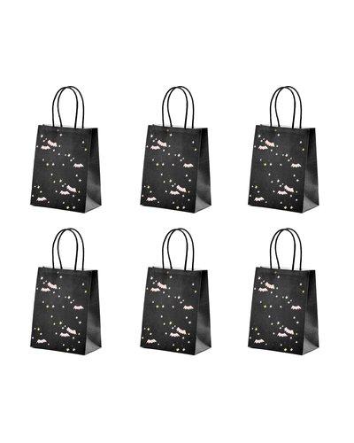 Magicoo 6 Halloween Papiertaschen schwarz
