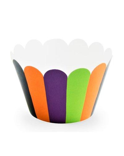 Magicoo 6 Muffinformen in Halloween Farben