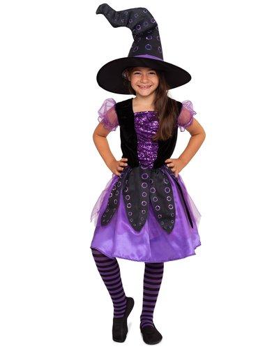 Magicoo Oktopus Hexe Kostüm für Mädchen
