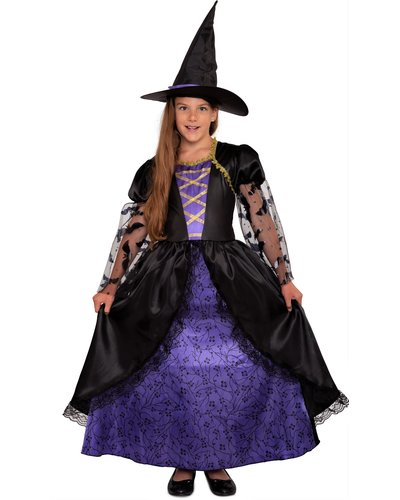 Magicoo Königin Hexe Kostüm für Mädchen