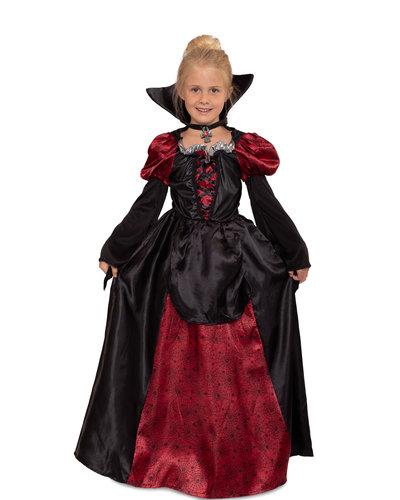 Magicoo Lady Vampirin - Mädchen Vampir Kostüm