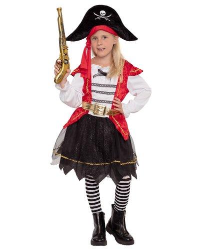 Magicoo Süße Piratin Kostüm für Mädchen