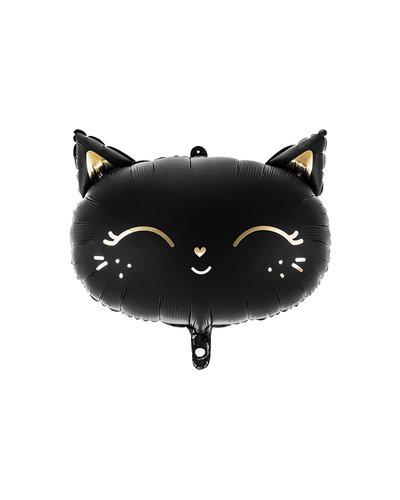 Halloween Folienballon Katze 48x36 cm