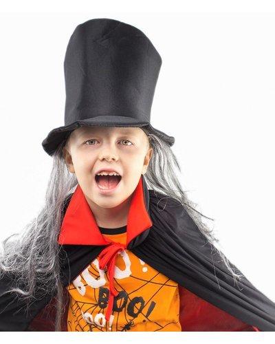 Magicoo Vampirhut mit grauen Haaren