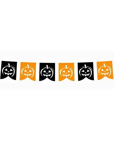 Magicoo Halloween DIY Girlande aus Papier 281x21 cm