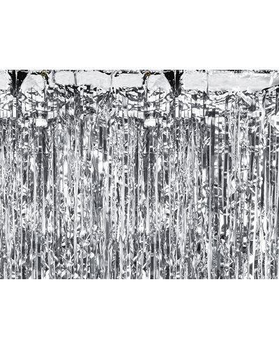 Magicoo Party Vorhang Silber