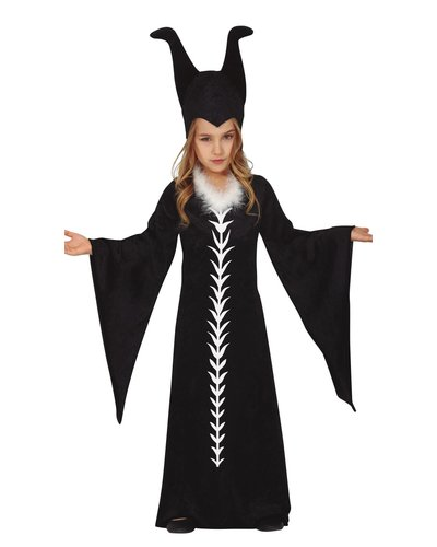 Magicoo Dunkle Fee Kostüm für Mädchen