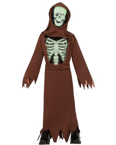 Magicoo Halloween Mönch Skelett Kostüm für Kinder