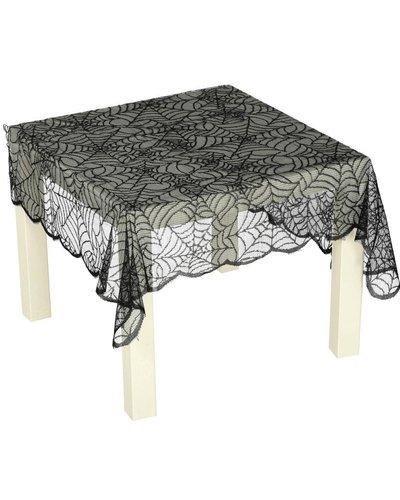 Magicoo Tischdecke aus Stoff schwarz 75 x 90cm