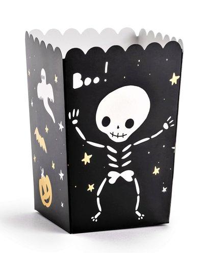 """Magicoo 6 Popcorn/Süßigkeiten Boxen """"BOO"""""""