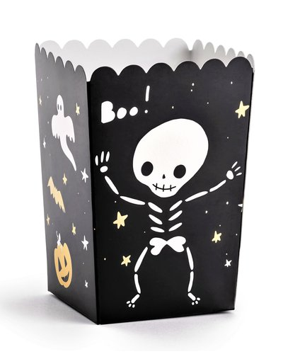 "Magicoo 6 Popcorn/Süßigkeiten Boxes ""BOO"""