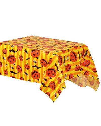 Magicoo Halloween Tischdecke aus Kunststoff orange 130x175 cm