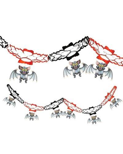Magicoo Halloween Girlande mit Fledermäusen 15 x 200 cm