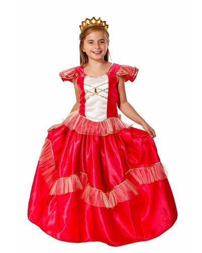 Magicoo Prinzessin Kostüm Kind rot